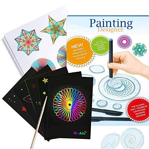 Harxin Deluxe Set Design Spiral Designer Giocattoli Educativi Disegno Giocattoli Insieme Giochi per Adulti e Bambini (Spiral Giochi )
