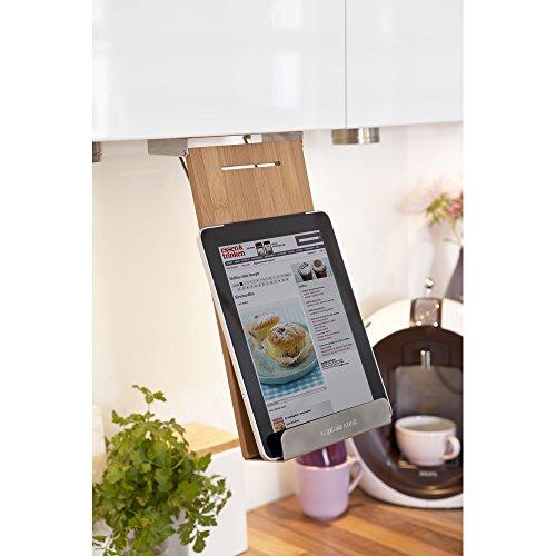 la cuisine 201070102-HE Kochbuchhalter Captain Cook klappbar für Bücher Bilder Tablet-PC