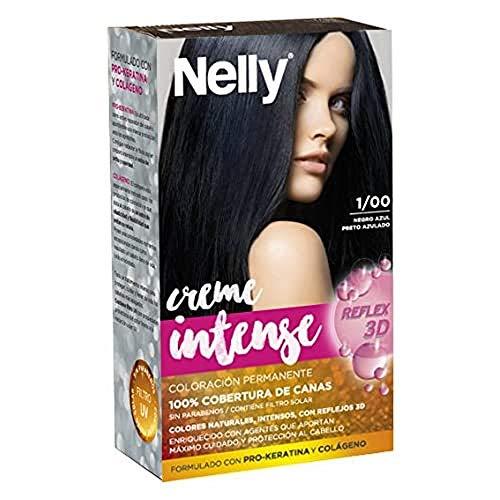 Nelly Set Tinte 1/00 Negro Azul - 50 ml