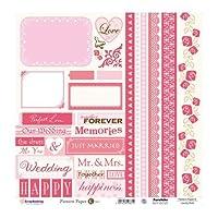 パターンペーパー K Lovely Pink (5枚1パック)