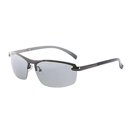 9465cb467a Polarised Mens Driving Glasses Sunglasses Photochromic Lens Womens UV400  Protection