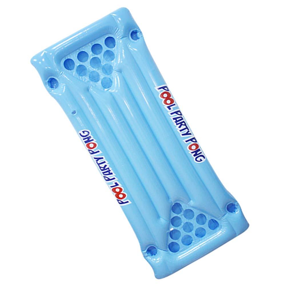 MongKok - Colchoneta Hinchable de PVC, para Mesa o Piscina, con Capacidad para 24 Tazas, para Verano: Amazon.es: Hogar