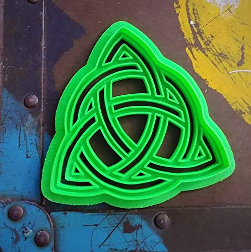 3D Printed Celtic Knot Trinity Symbol Cookie Cutter