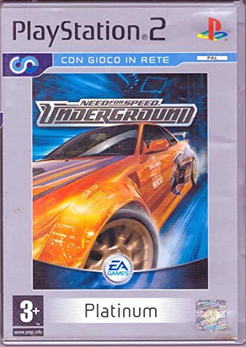 Need for Speed Underg.(Ps2)Platinum