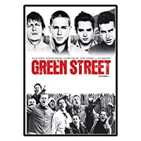 Qqwer GreenStreethooligans-映画ポスターキャンバス絵画の写真キャンバスの壁のアートに印刷リビングルームの装飾用-50X70Cmx1Pcs-フレームなし