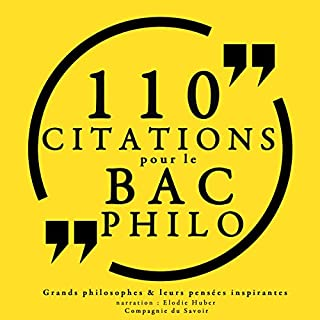 Couverture de Philosophie pour tous : 110 citations pour le bac philo