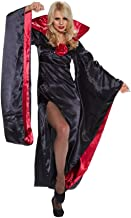 Lady Dracula Dress with Batwing Sleeves