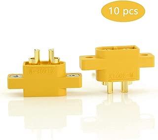 SoloGood Amass 10 Pcs XT60E-M Mountable XT60 Male Plug Connector for RC Models Multicopter … …