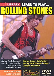 Lick Library: Learn To Play The Rolling Stones. Para Guitarra