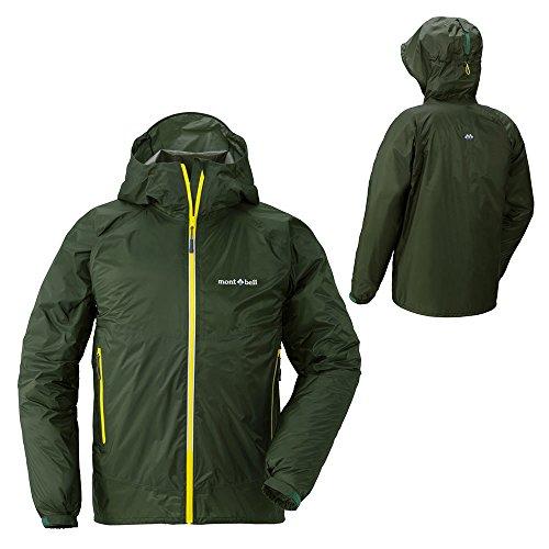 モンベル/バーサライトジャケット Men's メンズ レインウェアージャケット(男性用登山用雨具/雨カッパ)...