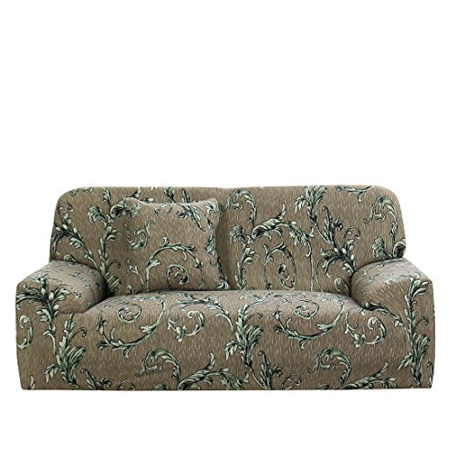 uxcell 1-4 Seater Elastic Sofa Chair Cover Stretch Slipcover Home Couch Medium