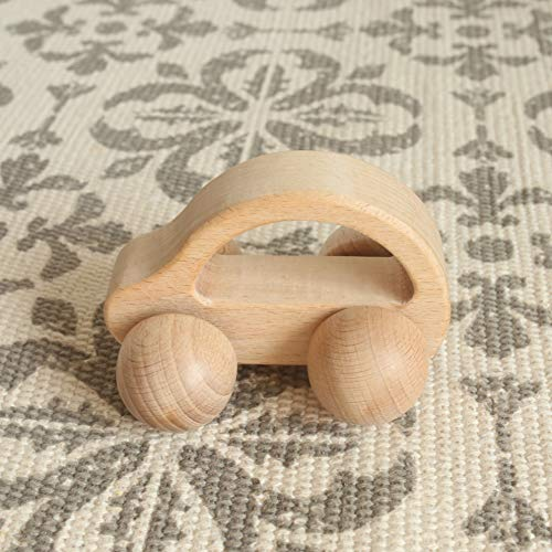 Mamimami Home Baby Toy Teether Toy Montessori Jouer Gym Baby Crib Jouet Beech Activité automobile en bois Gym Toy