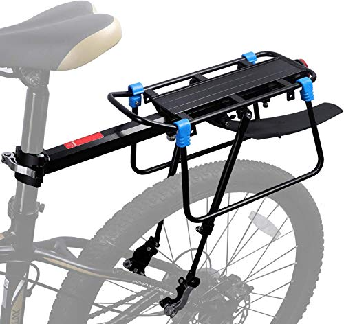 VStoy Pannier Rack for Bicycles, Adjustable Bike Rack, Bicycle Pannier Rack,Bike Back Rack, Maximum Capacity 50KG Panniers for Bike is Used for Cycling, Camping, and Travel Sports