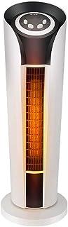 DWLINA Calentador De Radiador Eléctrico Hogar Baño Oficina Rápido Calentador Vertical Calefacción Termoeléctrica Ahorro De Energía, Radiador Infrarrojo De Carbono, Blanco