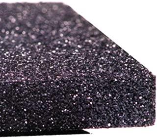 Conductive Polyurethane Black Foam, Low Density, 1/4 x 24 x 36