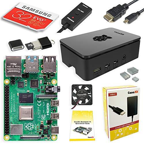 1. CanaKit Raspberry Pi 4 4GB Starter Kit - 4GB RAM