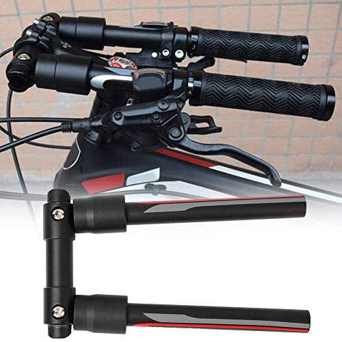 Annjom Práctico Manillar de Bicicleta, Manillar Plegable y desmontaje rápido, Seguro y confiable para Bicicleta de Carretera, Bicicleta de montaña, Scooter, Bicicletas Plegables