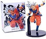 Modelo de Personaje Dragon Ball Migatte No Gokui Son Goku Jump White Hair Kakarotto Fight Decoración...