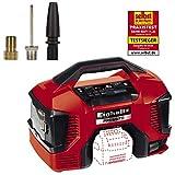 Einhell Akku-Kompressor PRESSITO Power X-Change (Li-Ion, 18 V, max. 11 bar, 710 mm Schlauchlänge, Hochdruck-, Niederdruckpumpe, inkl. 3-tlg. Adapter-Set, ohne Akku und Ladegerät)