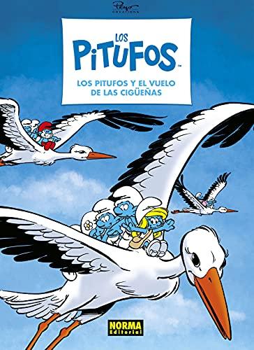 Los Pitufos 39. Los Pitufos y El vuelo De La Cigüeña