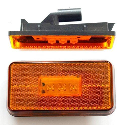 2 x LED Ambre côté étape lampe Feux de gabarit spécifiques pour Scania R 2004 > OEM 1737413