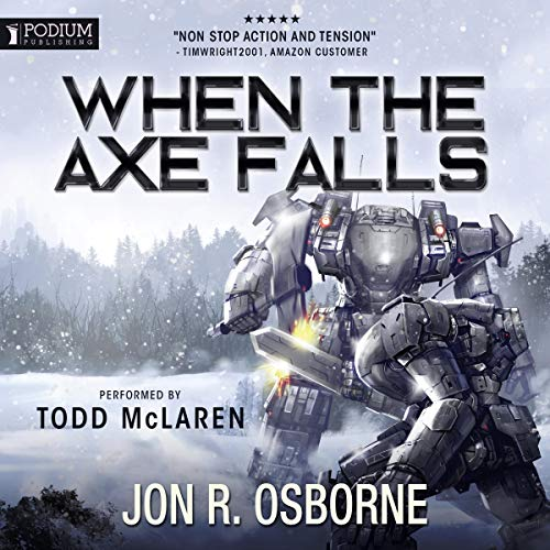When the Axe Falls audiobook cover art