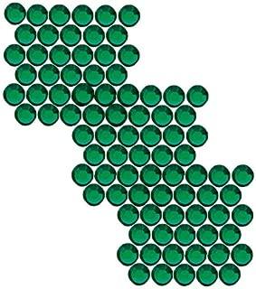 SWAROVSKI ELEMENTS Hotfix Crystal Flatback Rhinestones #2028 SS20 Emerald (50)