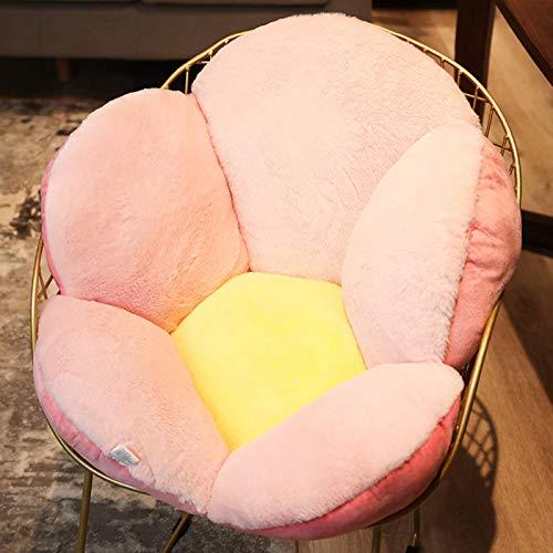 Cesto appeso Cuscino da seduta Cuscini per sedie, Cuscino da pavimento con fiori per bambini Cuscino per sedili Camera da letto Decorazioni per soggiorno Cuscini per sedili-Rosa 75x40cm (30x16In)