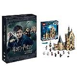 Harry Potter Collection (Standard Edition) (8 Dvd) + LEGO- Harry Potter La Torre dell'Orologio di Hogwarts Set di Costruzioni con 8 Minifigure,75948