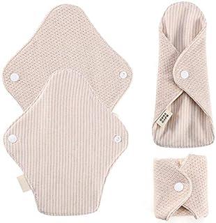 KYK 180 x 65mm Reusable Cotton Menstrual Pads Sanitary Napkins Washable Menstrual Sanitary Pad Women Cloth Menstrual Pad Period Pads