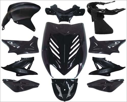 Verkleidung special aerox schwarz mitallic DMP 11-teilig