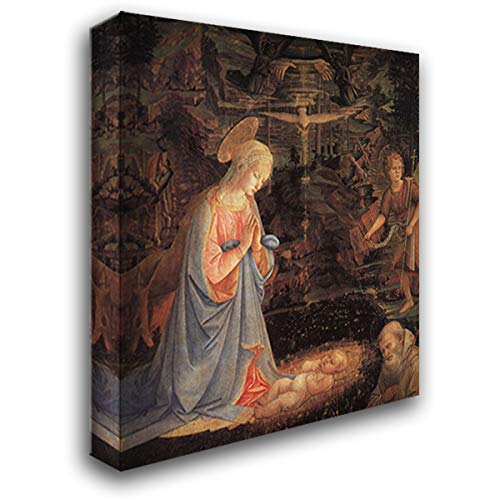 The Adoration of The Child 20x22 Gallery Wrapped Stretched Canvas Art by Paolo Uccello