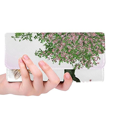 Unique Custom Cat Animal Feline Fart Domestic Animal Cat Eyes Women Trifold Wallet Long Purse Credit Card Holder Case Handbag