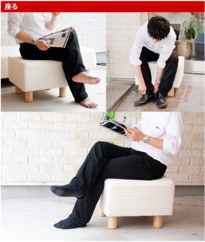 イー・ユニットベッド屋さんが作ったベンチソファスツール日本製(サイズ:ダブル幅140cmカラー:生成)
