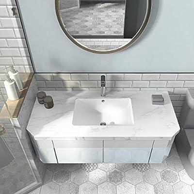 "19"" x 14""Rectangular Undermount Vanity Bathroom Sink"