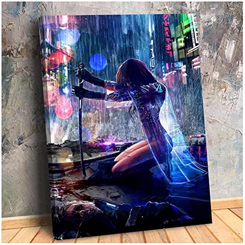 Bxygml Obraz na płótnie Jacek Babiński plakat i druki obrazy na ścianę do salonu Home Decor-50x70cm bez ramki!
