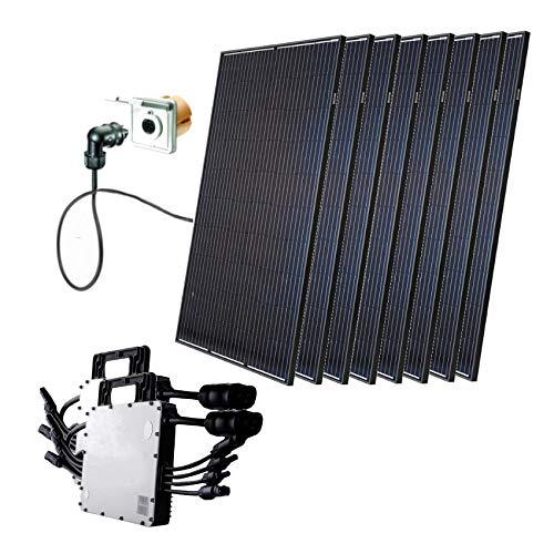Minisolar Balkonsolar Mono Octo 2480 Watt inkl. Einspeissteckdose