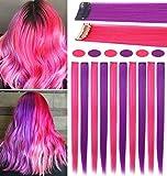 FAIRY COLOR 8PCS Pink Purple