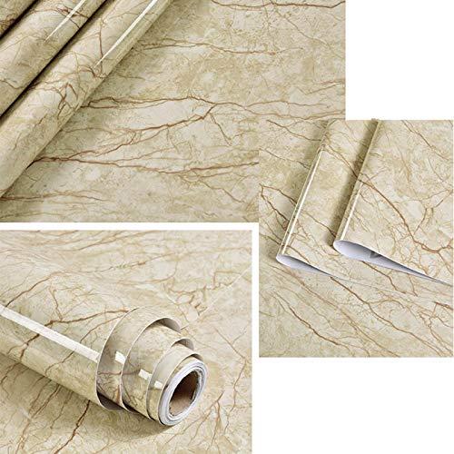 Rollo de papel tapiz de vinilo de mármol autoadhesivo para muebles, película decorativa, pegatinas de pared impermeables, protector contra salpicaduras de cocina, decoración del hogar 40cmX1m DL-032