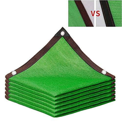 Malla sombreadora, 85% Parasol de tela, cubierta de la cortina con ojales protección de las plantas for el paño de efecto invernadero del granero de la perrera piscina Pergola O Con piscina Green