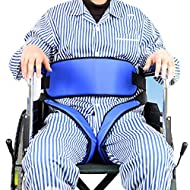 Cushion Pelvic Slider Belt,Patient Wheelchair Seat Belt Restraint Band Medical Elderly Fixing Belt for Patient Bound Prevent Patient Forward Sliding