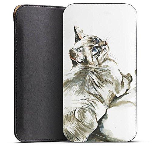 DeinDesign Cover kompatibel mit Wiko Highway Pure Hülle Tasche Sleeve Socke Schutzhülle Cat Katze Kitten