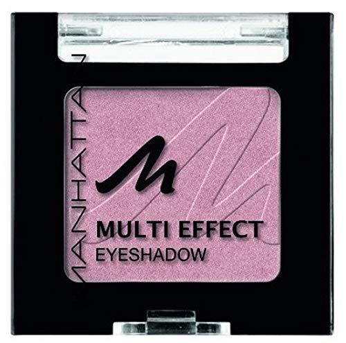 Manhattan Multi Effect Eyeshadow – Rosaner, schimmernder Lidschatten in handlicher Dose, farbintensiv und langanhaltend – Farbe Dollywood Darling 51M – 1 x 2g