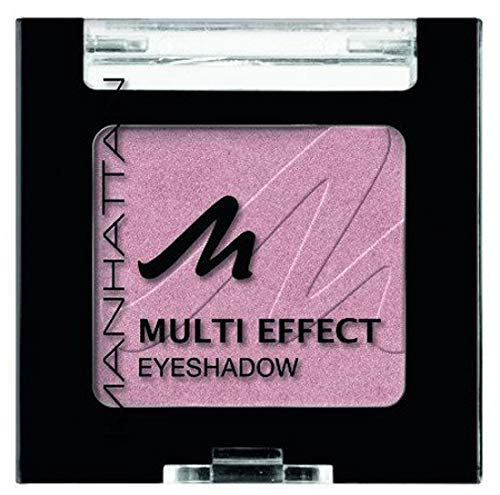 Manhattan Multi Effect Eyeshadow – Rosaner, schimmernder Lidschatten in handlicher Dose,...