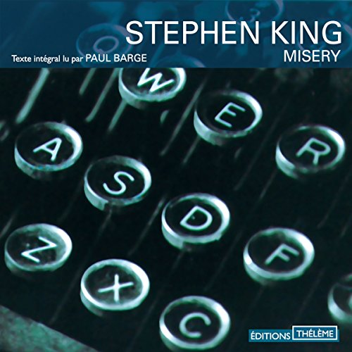 Misery [French Version] audiobook cover art
