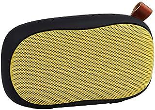 ZGYQGOO 4.2 Altavoz Bluetooth Portátil Inalámbrico Altavoz Subwoofer Integrado Micrófono Manos Libres Tarjeta de Conexión de Llamadas 3 Horas Tiempo de Jugar 8 Metros de Distancia Bluetooth, Natural, Natural