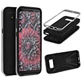 Urcover Galaxy S8 Plus Case, Hybrid Series Back-Case dual
