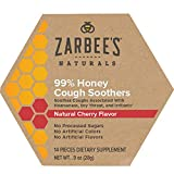 Zarbee's Naturals 99% Honey Cough Soothers, Natural Cherry Flavor, 14 Count