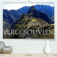 Peru & Bolivien - Die Landschaft (Premium, hochwertiger DIN A2 Wandkalender 2022, Kunstdruck in Hochglanz): 13 wunderschoene Landschaftsaufnahmen aus Peru und Bolivien von dem Fotografen und Grafik-Designer Olaf Bruhn (Monatskalender, 14 Seiten )