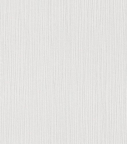 Rasch Wallton Vliestapete-187601 zum überstreichen 10,05 x 0,53 m